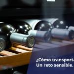 transportar vino
